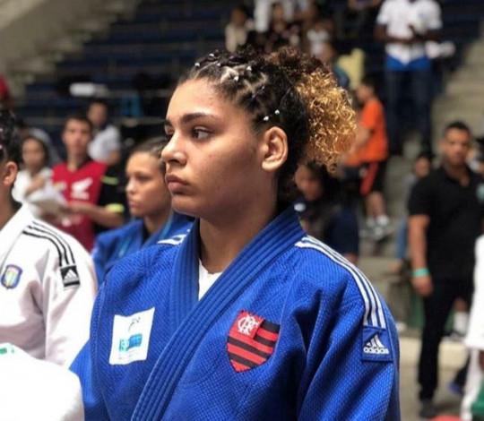 Com apenas 15 anos, judoca rubro-negra garante vaga no Meeting Nacional Sub-21