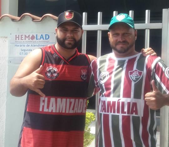 Doação de sangue do Consulado Flamizade RJ