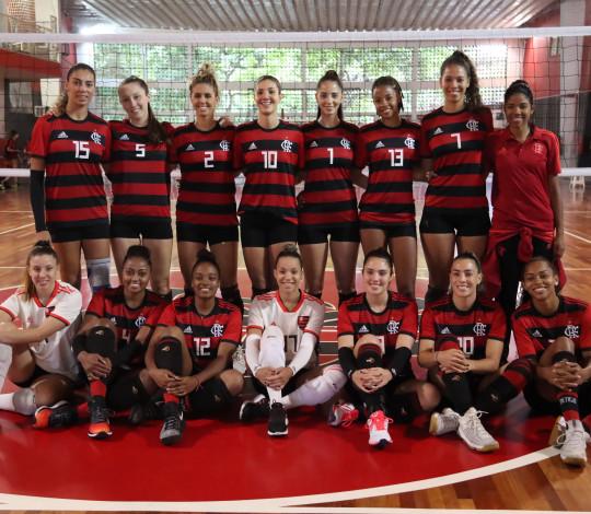 FlaVôlei encara torneio amistoso em Minas Gerais