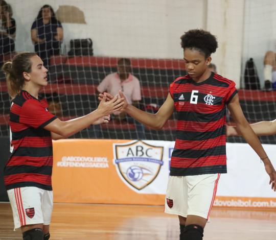 Flamengo encerra participação no Campeonato Brasileiro Sub-16 de Vôlei