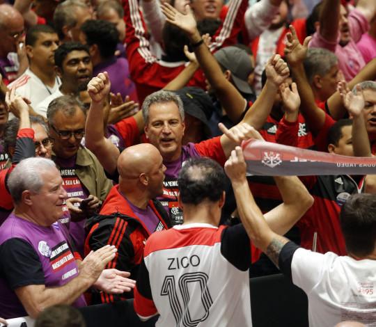 Rodolfo Landim é o 57º presidente do Flamengo