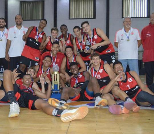 Flamengo é campeão do Estadual Sub-17 de Basquete