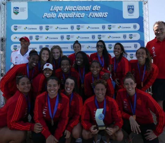Flamengo conquista o inédito tetracampeonato da Liga PAB Feminina