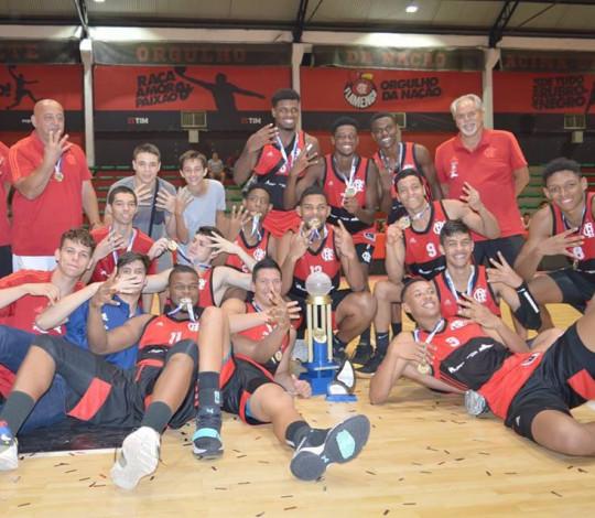 Flamengo conquista o tetracampeonato Estadual Sub-19 de Basquete