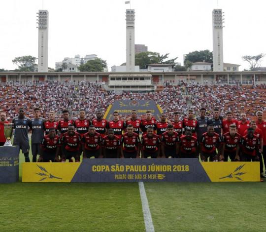 A história do tetra do Flamengo na Copa São Paulo de Futebol Júnior