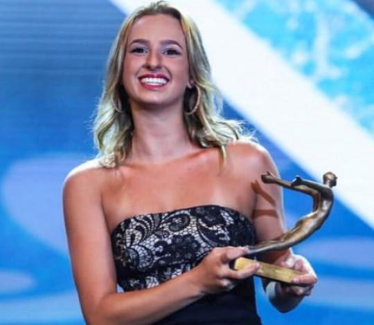 Maria Clara Lobo conquista o Prêmio Brasil Olímpico 2018