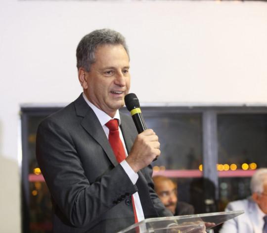 Rodolfo Landim e novo Conselho Diretor são empossados na Gávea