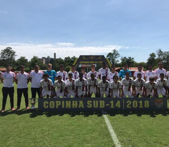 Sub-14 perde a final da Série Prata da Copinha para o Atlético PR