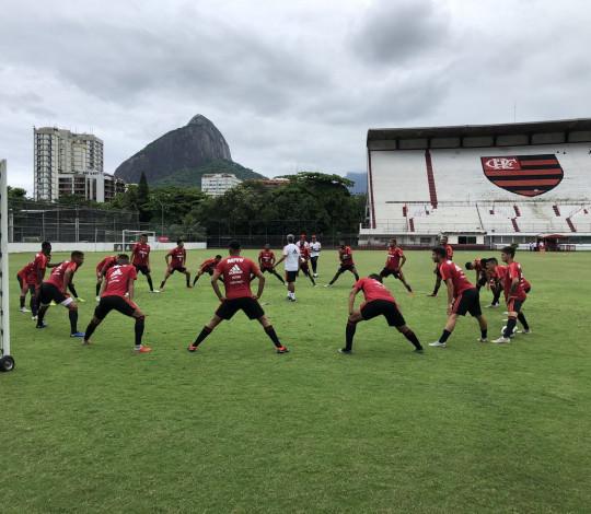 Sub-20 treina na Gávea de olho na Copa São Paulo de Futebol Júnior 2019