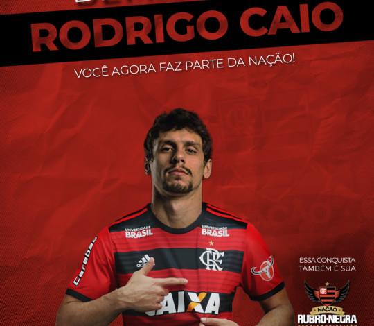 Rodrigo Caio é o primeiro reforço para 2019