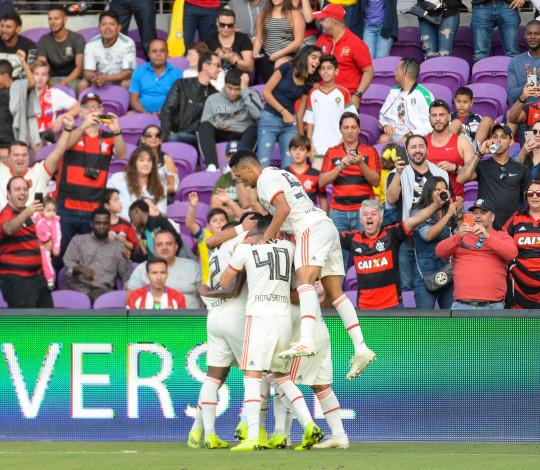 Flamengo vence o Eintracht Frankfurt e conquista a Flórida Cup 2019