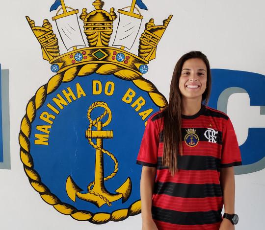 Carol Matos é do Flamengo/Marinha