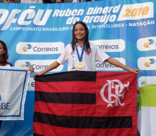 Ana Luiza Daisson e Ingra Pedroso são convocadas para o Sul-Americano Juvenil de Natação