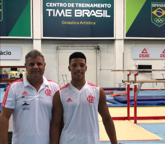 Josué Heliodoro é convocado para camping com a Seleção Brasileira de Ginástica Artística