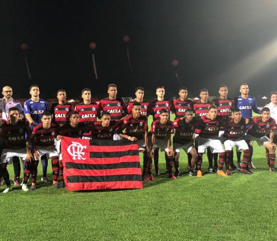 Sub-17 passa pelo Liverpool (URU) e está na semifinal da Copa Santiago
