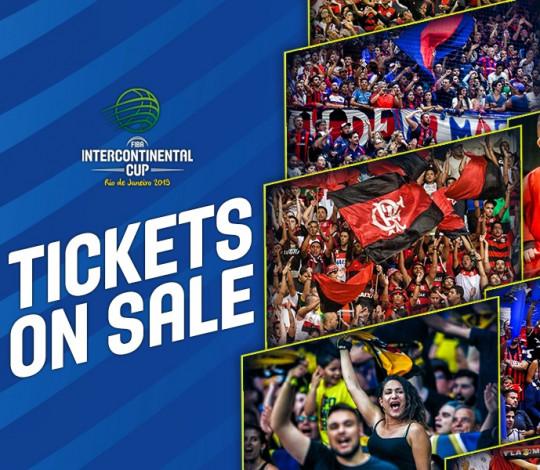 Os ingressos para a Copa Intercontinental da FIBA já estão à venda