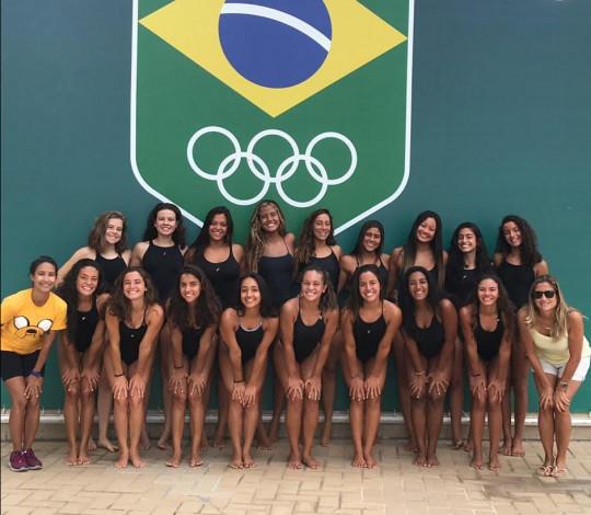 Rubro-negras se classificam para Seleção Brasileira Juvenil e Júnior de Nado Artístico