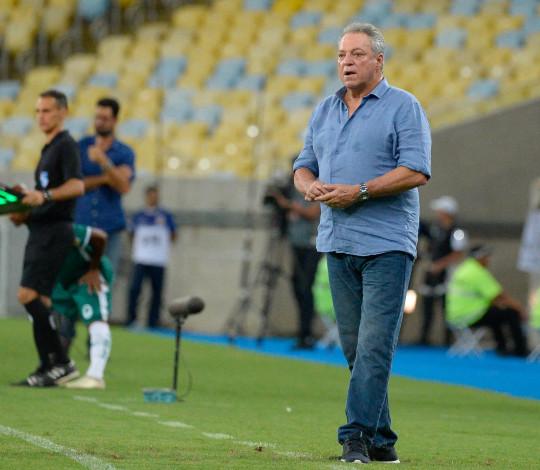 Abel Braga aprova atuação da equipe no triunfo contra o Boavista