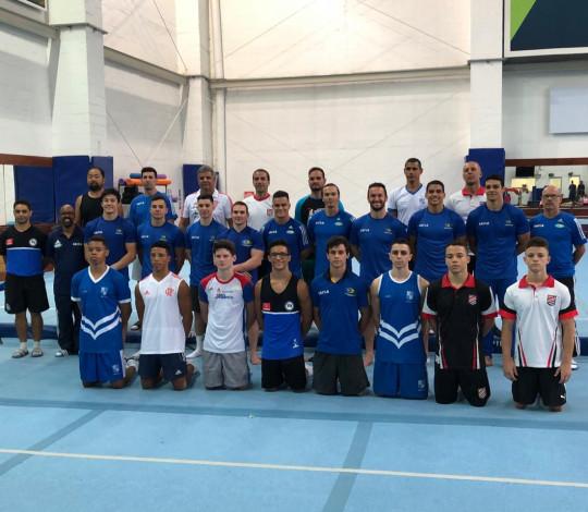 Josué Heliodoro comenta primeira experiência com a Seleção Brasileira de Ginástica Artística