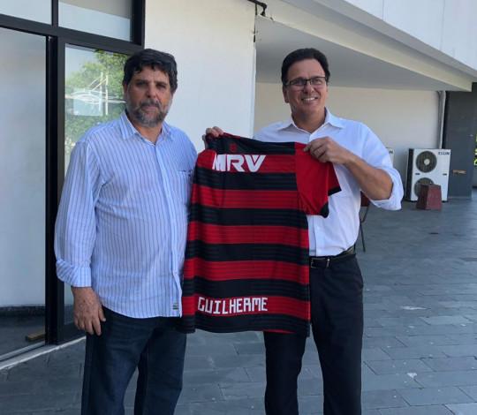 Flamengo recebe visita de Ministro do TST na sede oficial