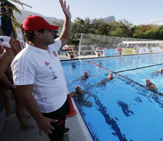 De olho na temporada 2019, polo aquático rubro-negro volta aos treinos na Gávea