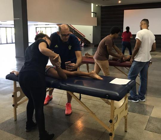 CUIDAR em parceria com a SONAFE realiza avaliações fisioterápicas na Gávea