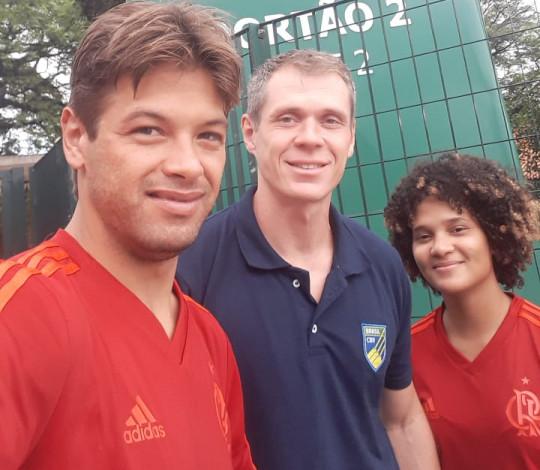 Angel Santos e Salvador Maike participam de Camping de Novos Talentos do Remo Paralímpico