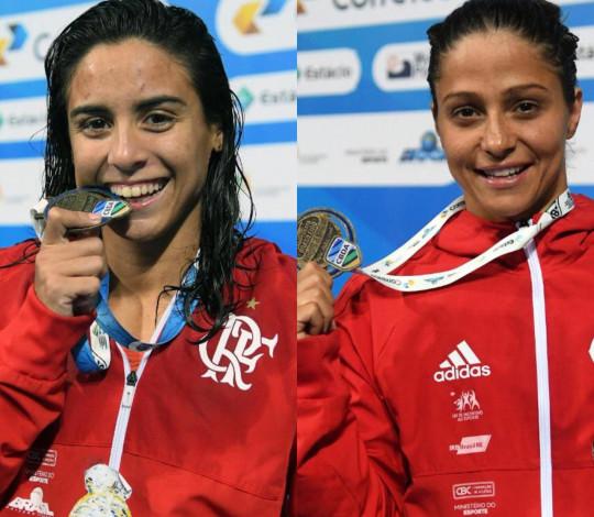 Naná Almeida e Daiene Dias renovam contrato com o Flamengo