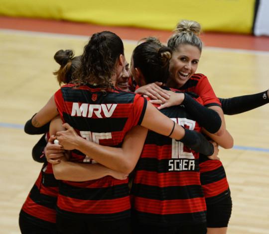 Invicto, Flamengo enfrenta Franca pela Superliga B de Vôlei