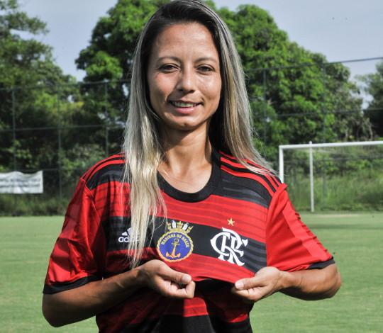 Sâmia Pryscila é do Flamengo/Marinha