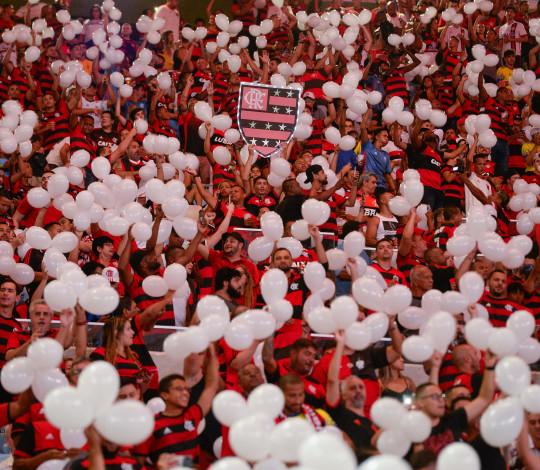 Com média de 42.173 torcedores presentes por jogo, Flamengo tem a melhor do país em 2019