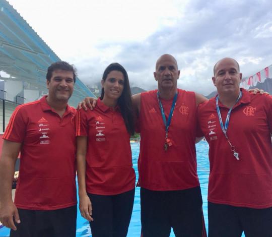 Treinadores rubro-negros participam do Encontro Nacional de Técnicos de Polo Aquático