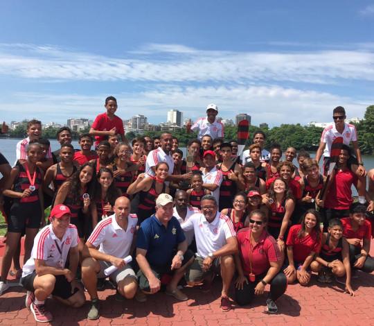 Flamengo conquista o título da 53ª Regata Remo do Futuro