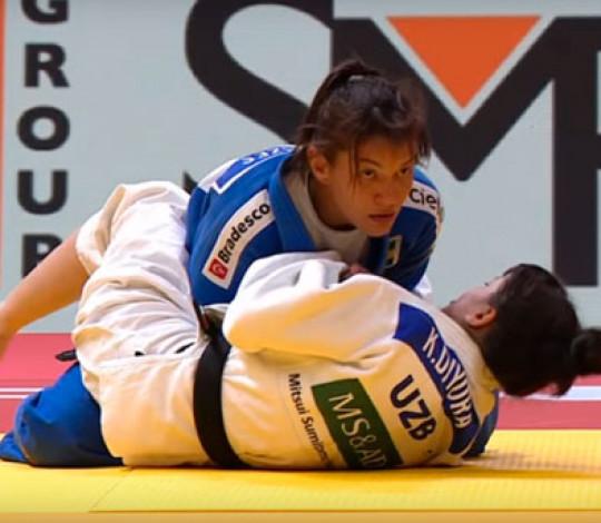 Sarah Menezes encerra participação no Grand Slam de Ecaterimburgo