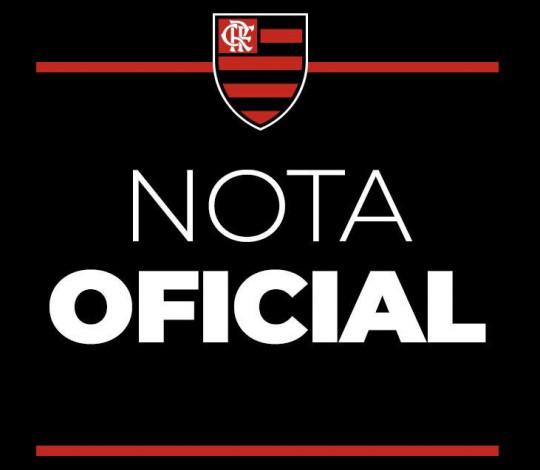 Nota Oficial - Posicionamento do Flamengo