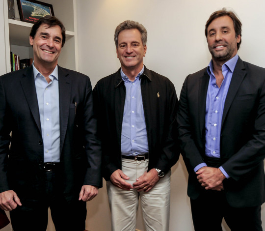 Flamengo anuncia novo patrocinador master