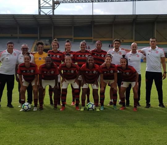 Flamengo/Marinha atropela Vitória-PE no Brasileiro Feminino