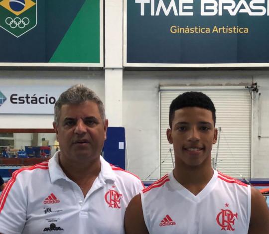 Josué Heliodoro e Roberto Nassar representam o Flamengo no Junior Team Cup