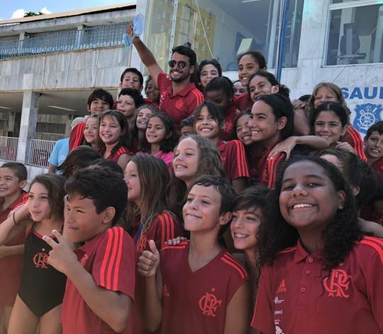 Flamengo é campeão do 2º Troféu Paulo Pavão de Natação