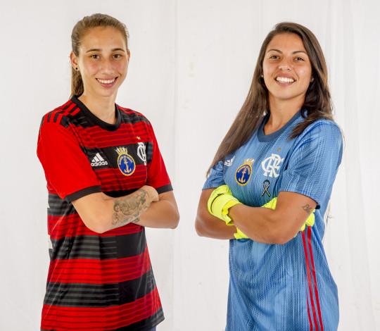 Bruna Rosa e Gabrielli Croco reforçam Flamengo/Marinha para temporada 2019