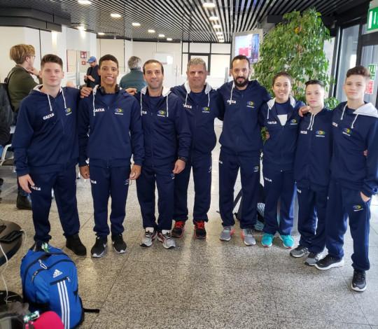 Josué Heliodoro estreia no Junior Team Cup pela Seleção Brasileira Juvenil de Ginástica Artística