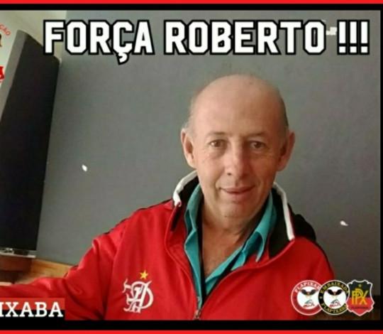 Força, Roberto! - Embaixada FLAPIXABA