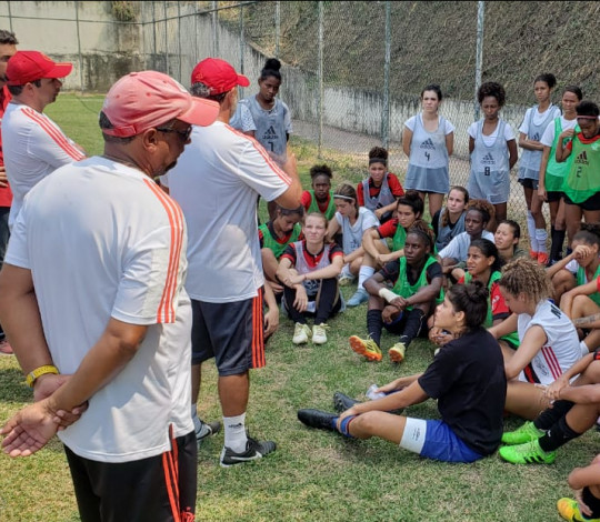 Flamengo promove seletivas para formação do time Sub-18 de Futebol Feminino