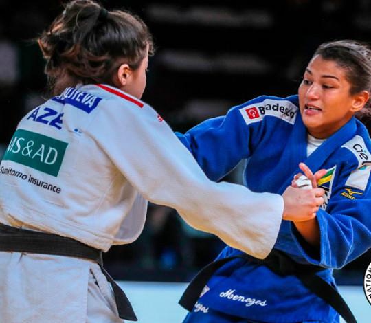 Sarah Menezes encerra participação no Grand Prix da Turquia