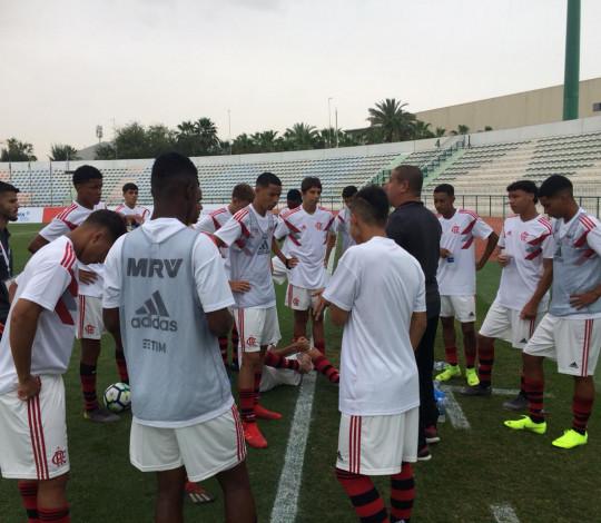 Sub-16 estreia com goleada sobre o Atlético de Madrid no Mundial em Dubai