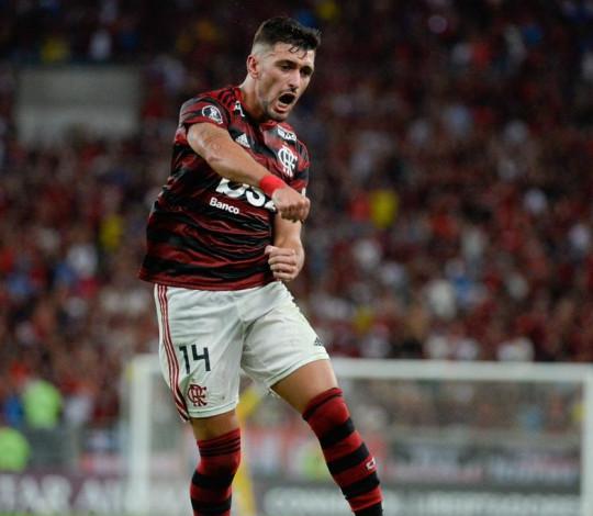 Flamengo goleia o San José por 6 a 1 e assume a liderança do Grupo D da Liberta