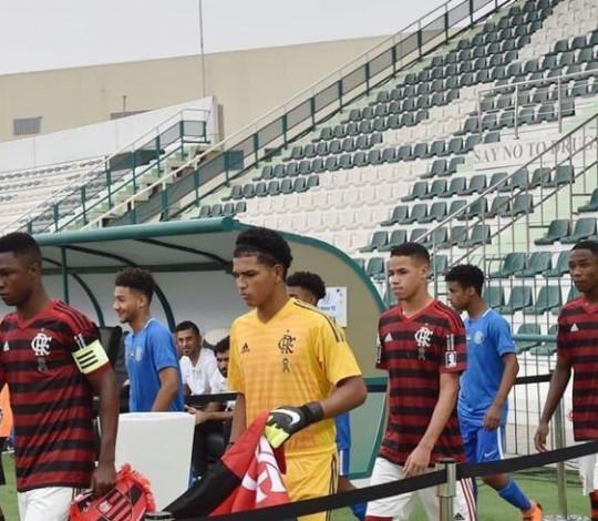 Sub-16 aplica outra goleada e vence Al-Nasr por 3 a 0 no Mundial em Dubai