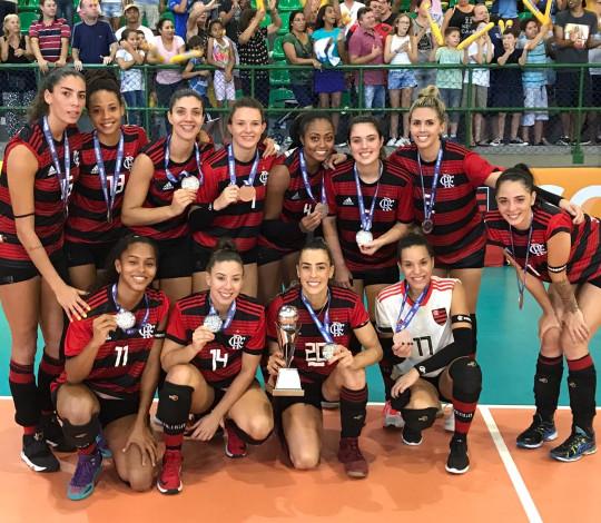 Em partida equilibrada, Flamengo é superado por Valinhos e fica com a prata na Superliga B