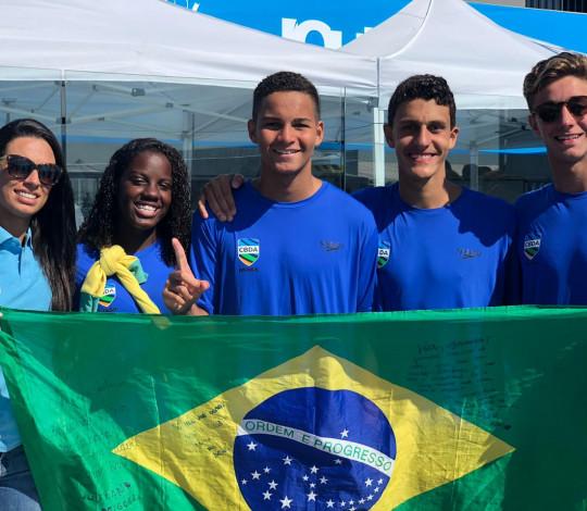 Rubro-negros são campeões do Sul-Americano Juvenil Masculino e Feminino de Polo Aquático