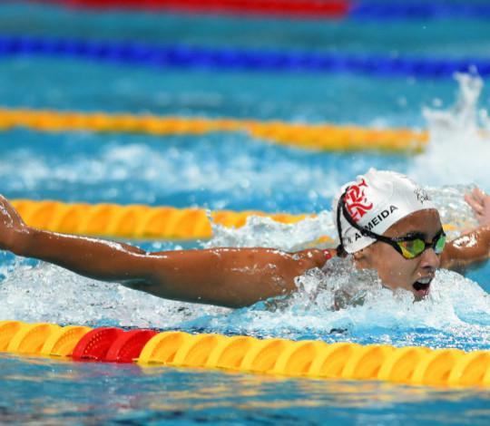 Com reforços, natação do Flamengo disputa o Troféu Maria Lenk nesta semana